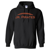 GLITTER Football - Heavy Blend™ Hooded Sweatshirt